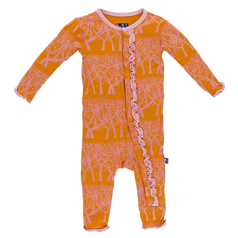 Kickee Pants Muffin Coverall - Sunset Fireflies