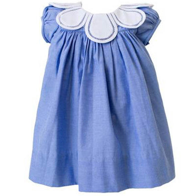 The Proper Peony Tulip Dress, Chambray