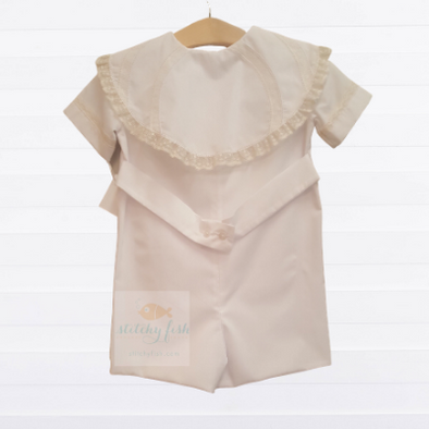 Treasured Memories Heirloom Button Down Shortall (2 Colors)