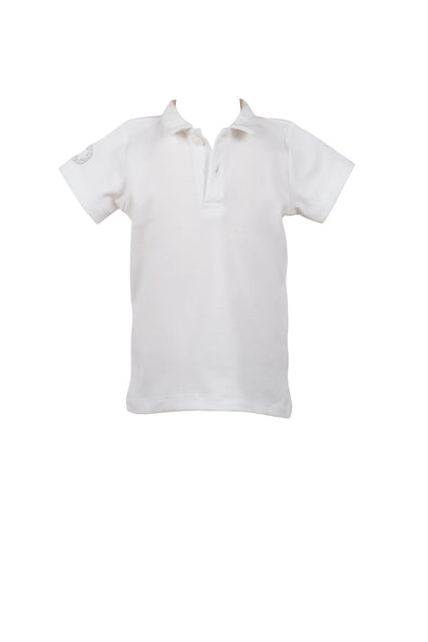 White Proper Polo Shirt