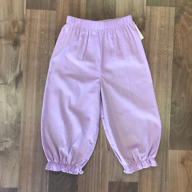 Stitchy Fish Girls Lavender Cord Bloomer Pant