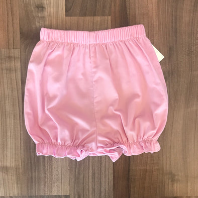 Stitchy Fish Girls Bloomer Shorts-Pink Cord