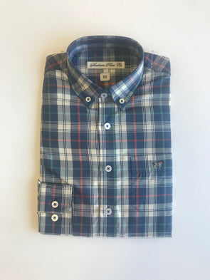Southern Point Hadley Shirt-Navy