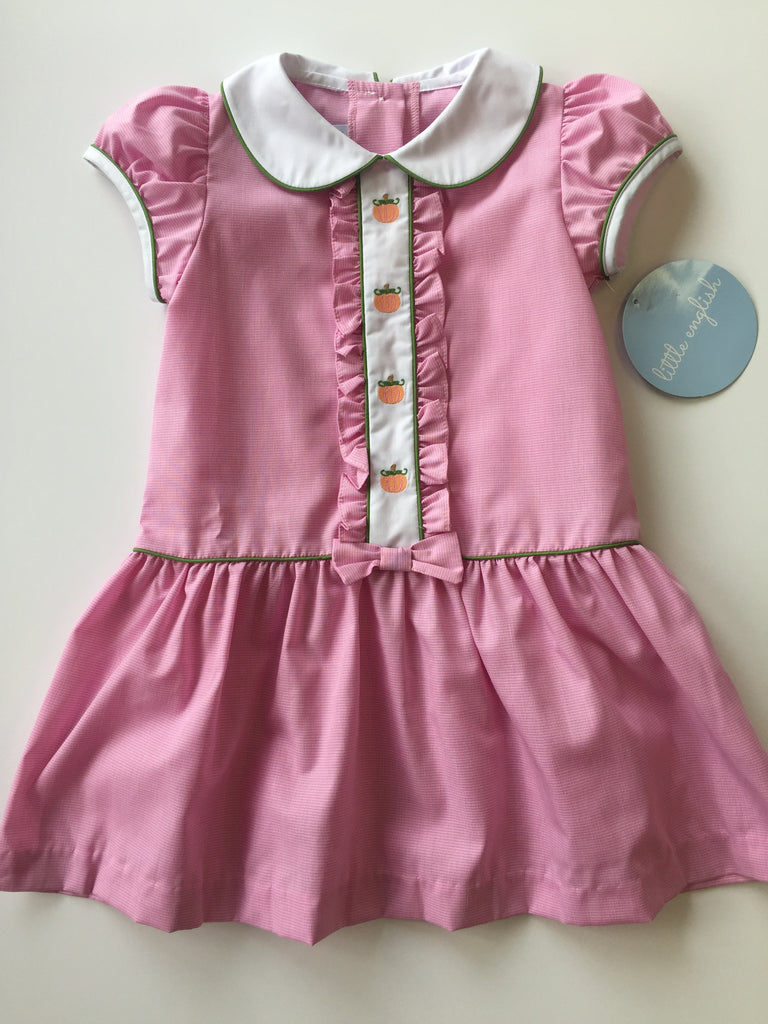 Little English Pumpkin Ruffled Alice Dress