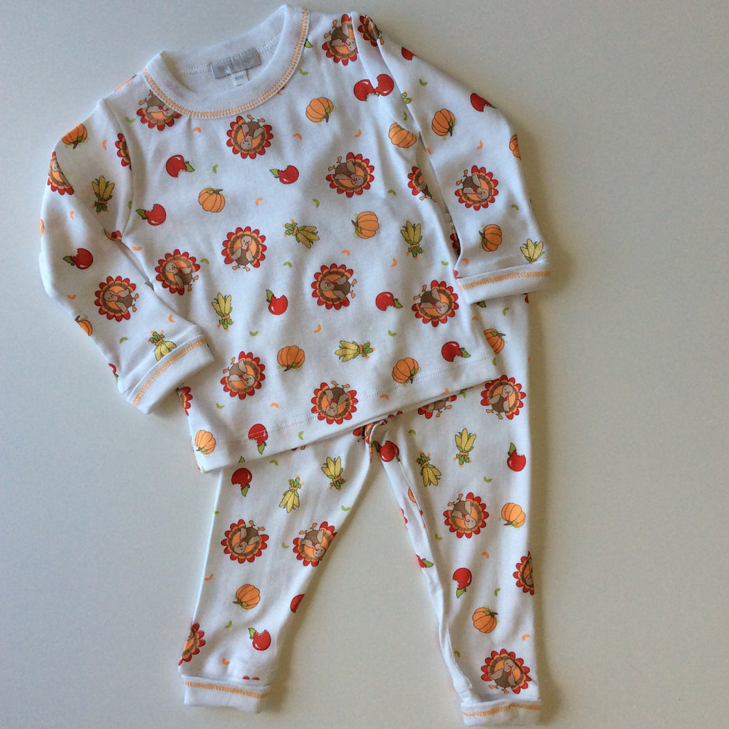 Magnolia Baby Gobble Gobble Long Sleeve Pajamas
