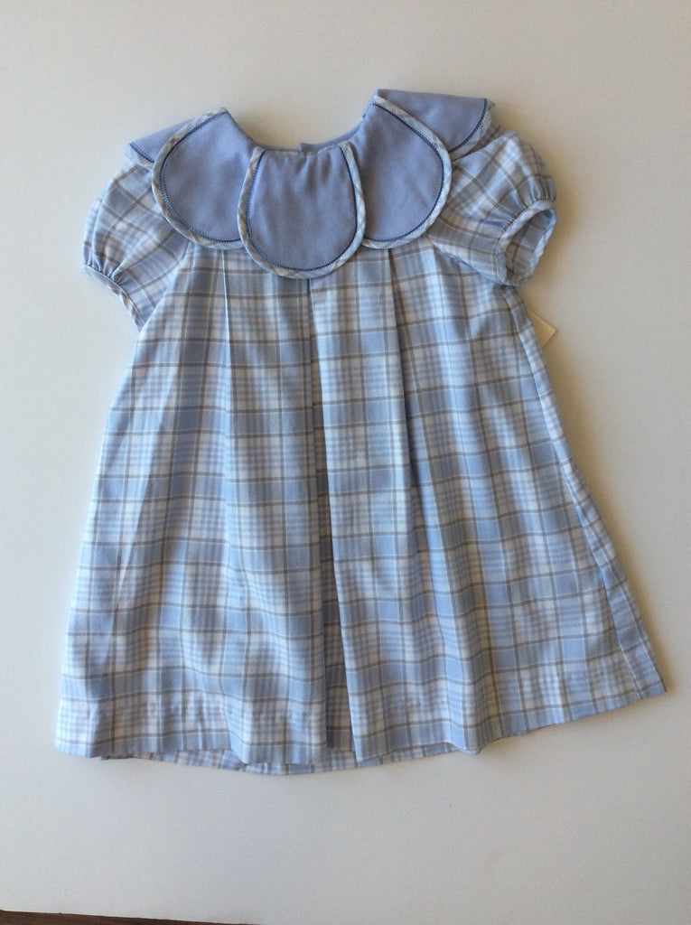Sophie & Lucas Plaid Petal Dress