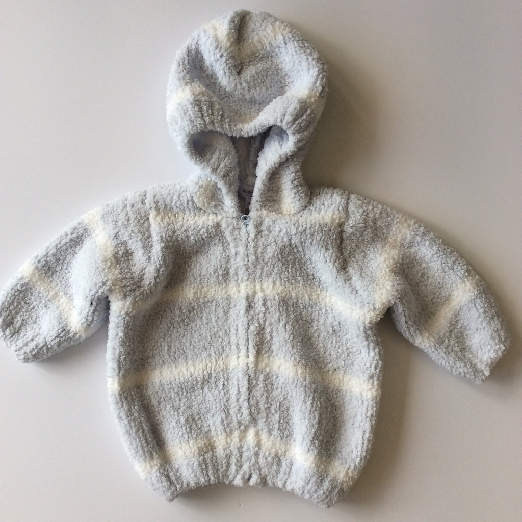 Angel Dear Stripe Chenille Hoodie (2 Color options)