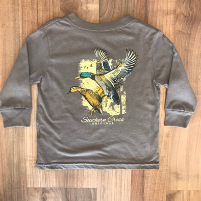 Southern Cross Charcoal Duck T-shirt