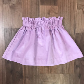 Stitchy FIsh Lavender Cord Gathered Skirt