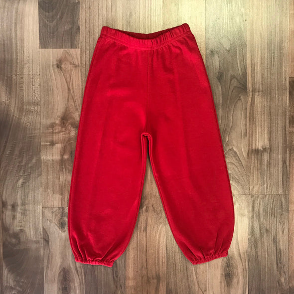 Stitchy Fish Boys Red Knit Bloomer Pant