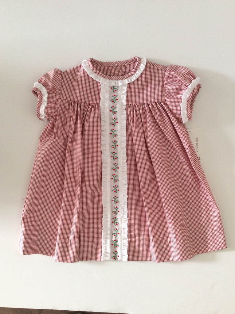 Anvy Kids Kristine Dress with Holly Insertion