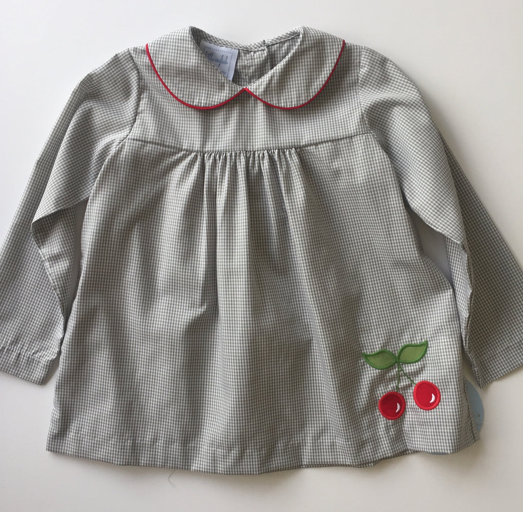 Little English Cherry Dunn Blouse