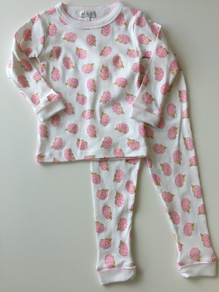 Magnolia Baby Hedgehugs and Kisses Pajamas (Pink and Blue)