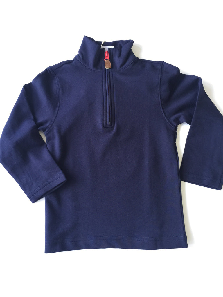 Bella Bliss Navy River Half Zip