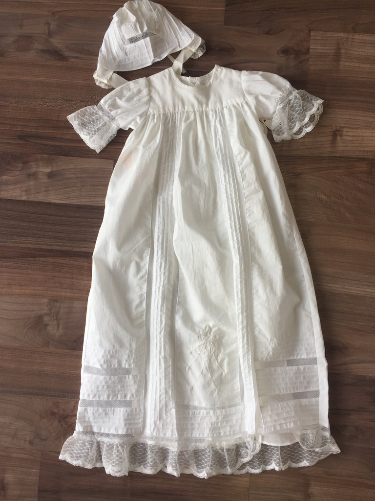 Remember Nguyen White Grace Christening Gown