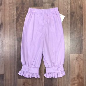 Stitchy Fish Lavender Cord Covered Button Pant