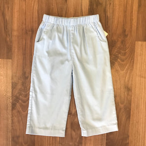 Stitchy Fish Boys Straight Pant w/Pocket-Light Blue Cord