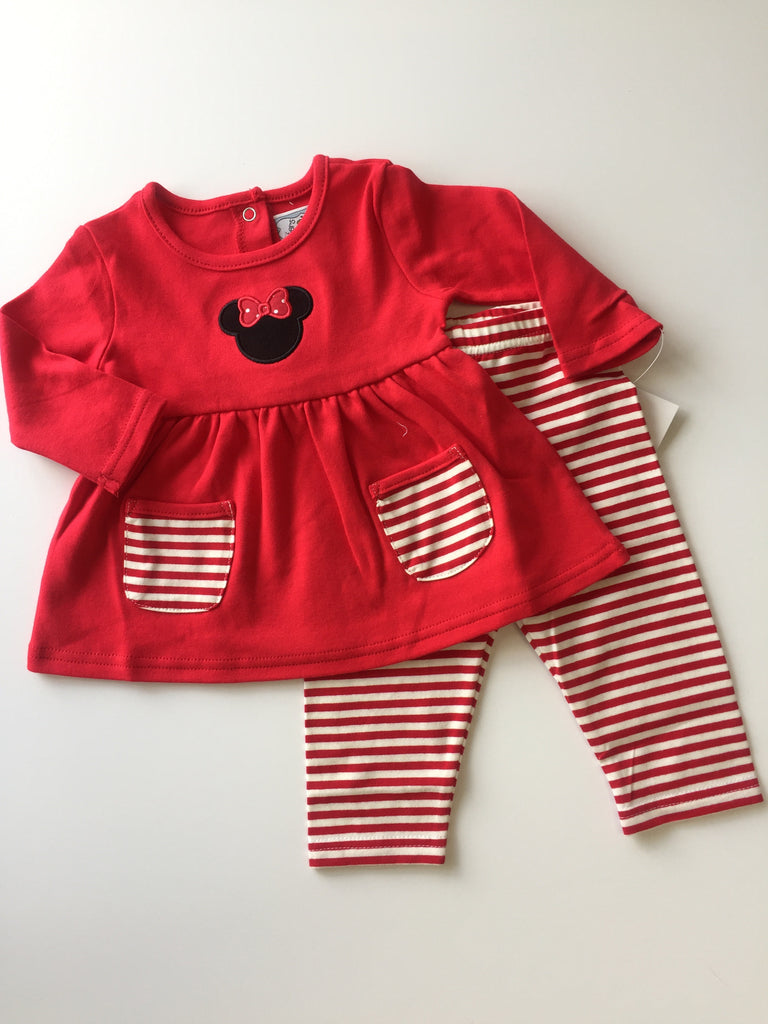 Three Sisters Mouse Applique Legging Set