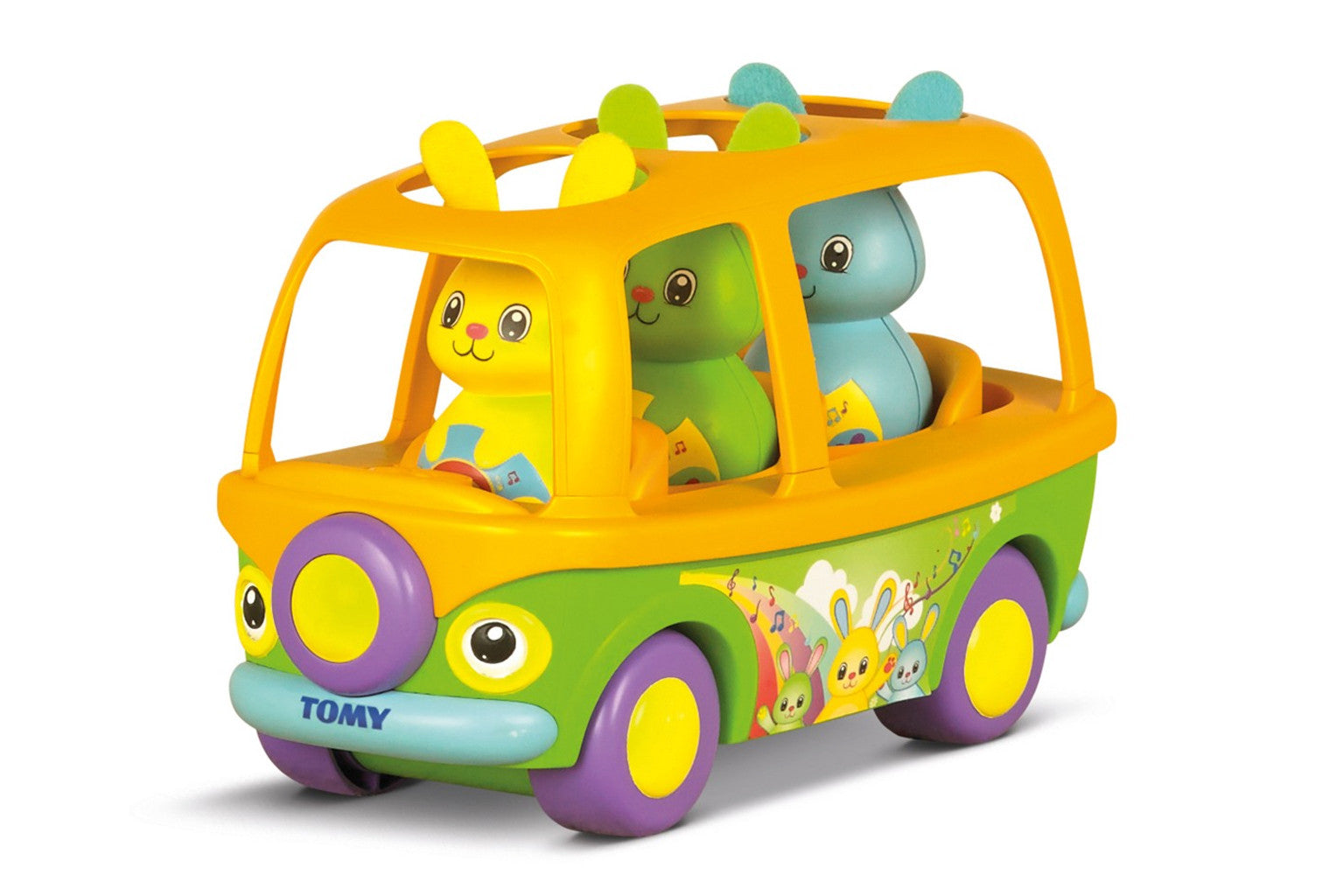 Tomy Toys Sing To Learn Bunny Bus Proprietary Production Services