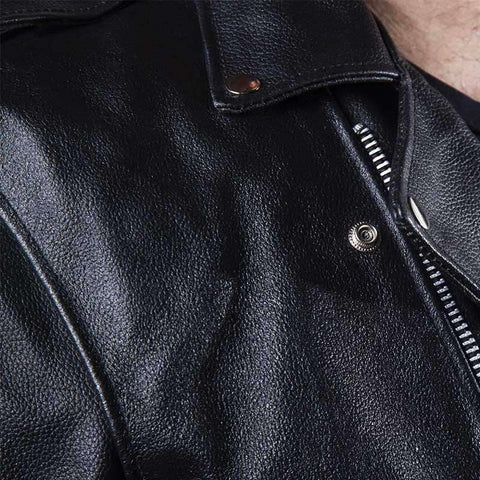 Classic Biker Jacket - Top Grade Leather