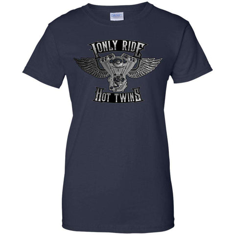 I Only Ride Hot Twins - T-shirt