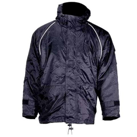 Men's Weatherproof Textile Jacket - Black