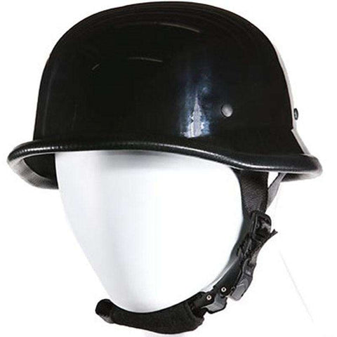 Novelty Helmet  - German Helmet - Shiny Black