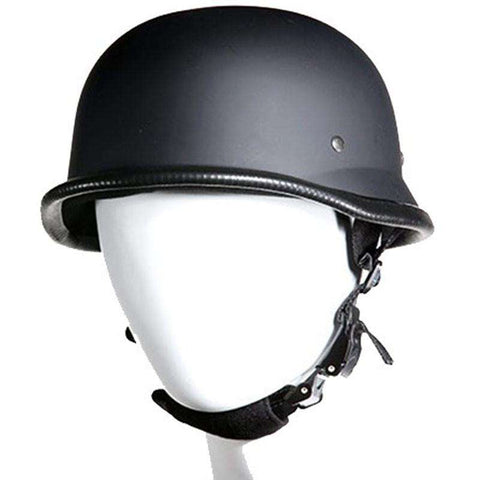 Novelty Helmet - German Helmet - Flat Black