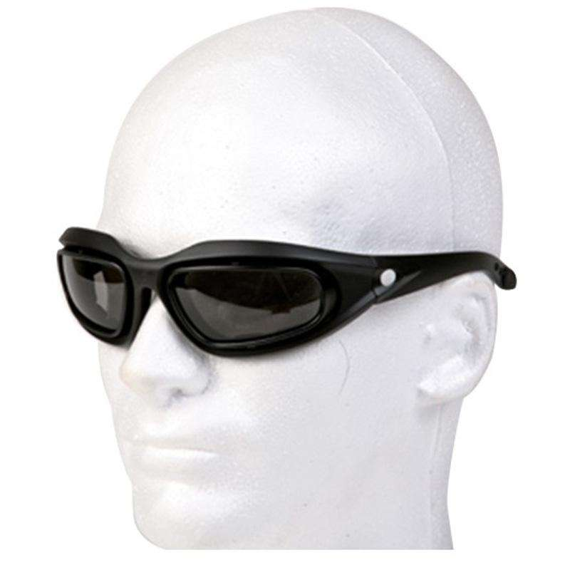 Riding Glasses with Smoke Lenses