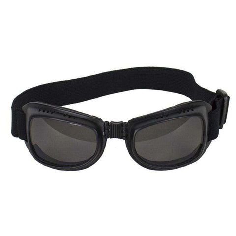 Old Dog Riding Goggles - Smoke Lenses