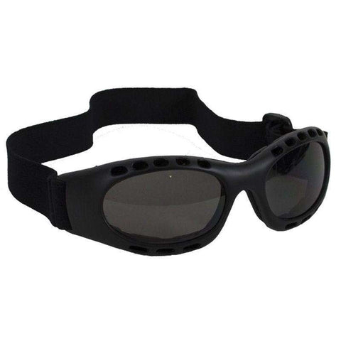 Slick Riding Goggles - Smoke Lenses