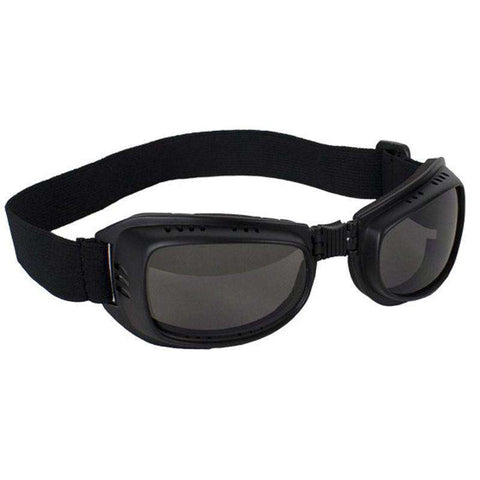 Riding Goggles With Smoke Lenses