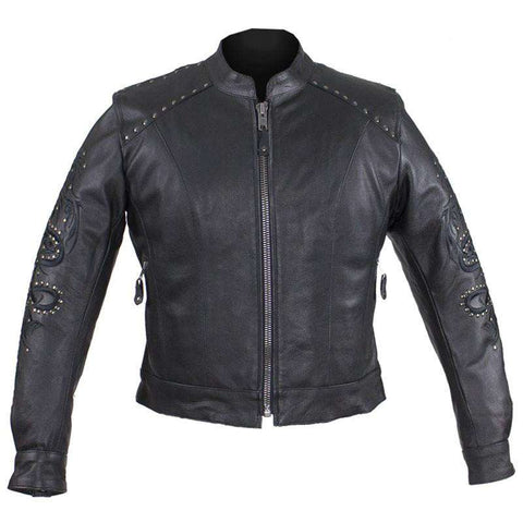 Women's Studded Racer Jacket