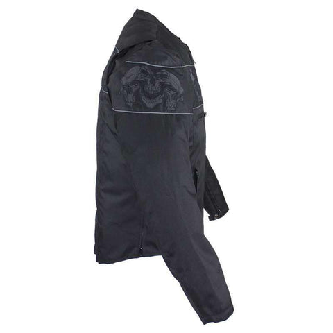 Nightskull Reflective Jacket - Textile