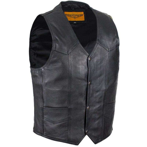Men's Biker Vest - The Dark Side