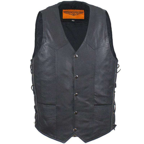Men's Biker Vest - The Road Buddy