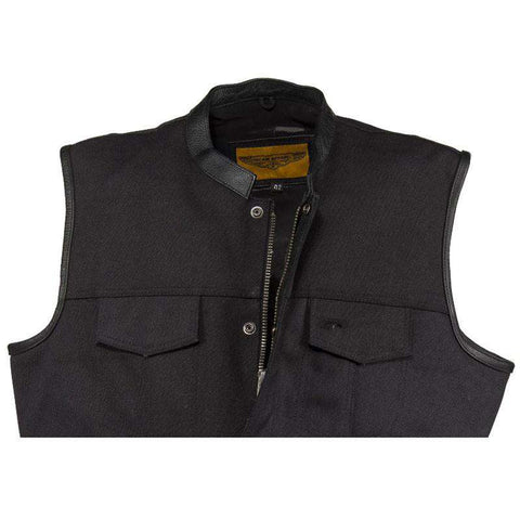 Motorcycle Club Vest - Canvas