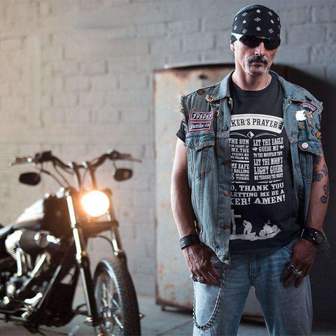 A Biker's Prayer - T-shirt
