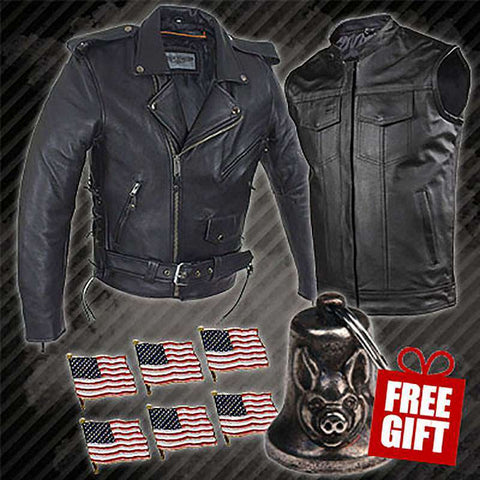 Biker Bundle - Get Classic (American Tradition - Standard Leather)