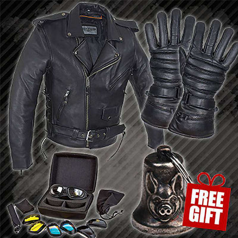 Biker Bundle - Get Safe (American Safe - Premium Leather)