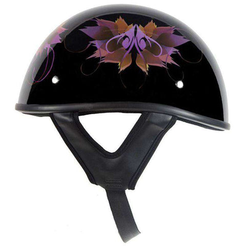 Helmet - Lo-Profile Flower Fairy Helmet - Shiny
