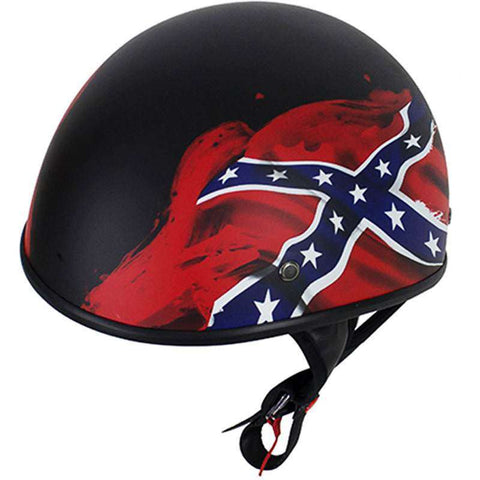Lo-Profile Dixie Flag Helmet