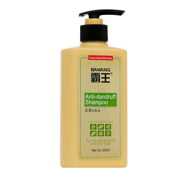 Anti-Dandruff Shampoo with Chinese herbal extracts