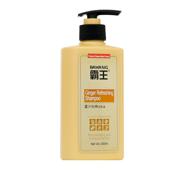 Ginger Refreshing Shampoo with Chinese herbal Extracts