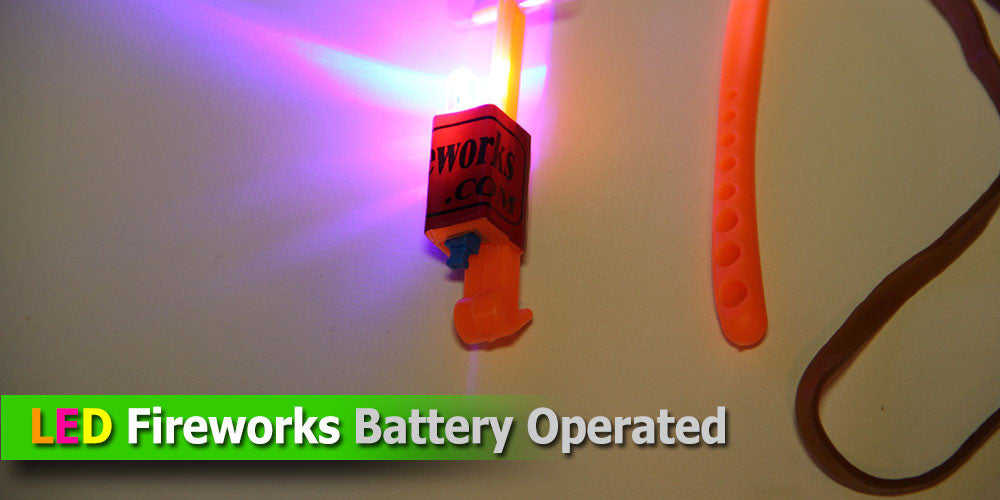 LED Firework - Battery Operated