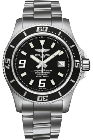 Breitling - Superocean 44 Black - Luxury Watch Rental