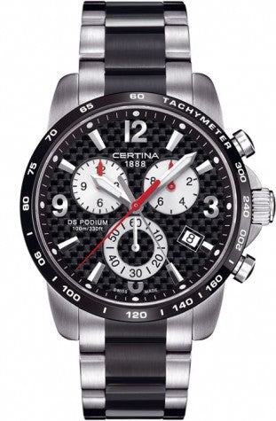 Certina - DS Podium Big Size Chronograph Swiss Mens Watch C001.617.22.207.00