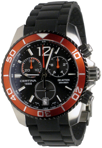Certina - DS Action Chronograph Black Dial Swiss Men's Watch C013.417.27.057.00