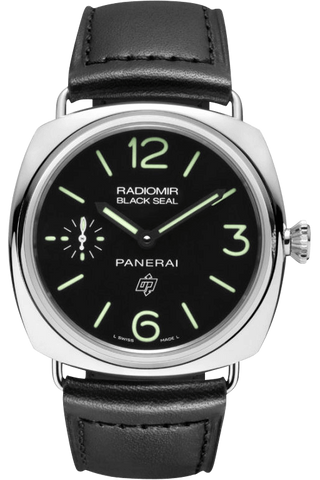 Panerai - Radiomir Black Seal Logo Acciaio - Luxury Watch Rental