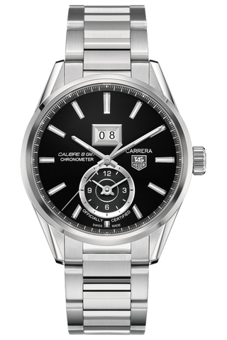 TAG Heuer Carrera Calibre 8 GMT And Grande Date Automatic
